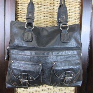 Liz Claiborne Black Shoulder Bag Purse